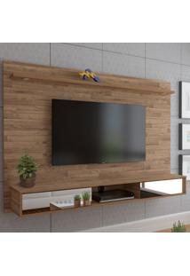Painel Para Tv Até 60 Polegadas Platinum 2 Portas Rustico - Artely