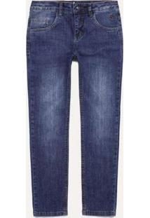 Calça Jeans Mini Sm Básica Dark Reserva Mini Azul