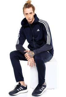 Agasalho Adidas Performance Refocus Azul