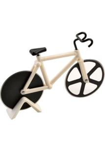 Cortador De Pizza Bicicleta Branco