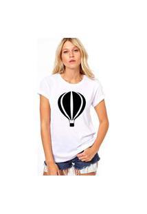 Camiseta Coolest Balão Branco