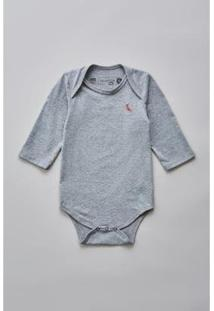 Body Bebê Reserva Mini T Malha Básico Masculino - Masculino