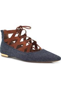 Sapatilha Zariff Shoes Lace Up Zíper