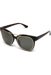 Óculos De Sol Thelure Sobreposição Preto