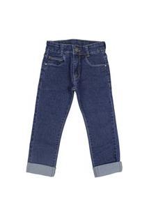 Calça Jeans Skinny Com Ajuste Na Cintura Akiyoshi