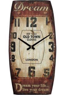Relógio Kasa Ideia De Parede Dream