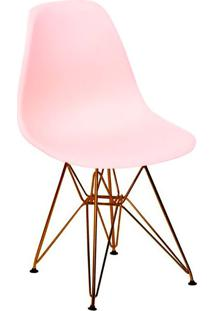 Cadeira Base Em Cobre 1102-Or Design - Salmao