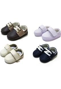 Kit 04 Sapatos Sapatinhos Sapatotop Shoes Bebe