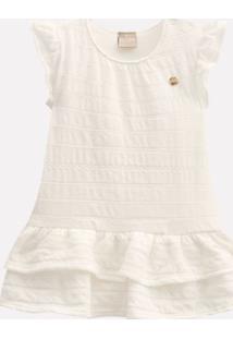 Vestido Bebê Milon Malha Trabalhada 11877.0452.M