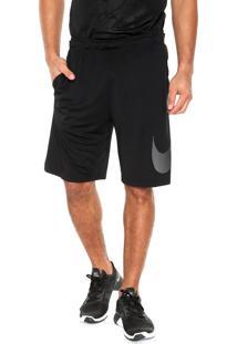 Short Nike Dry Ho17 Gfx Preto