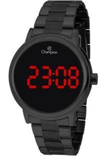 Relógio Champion Digital Ch40115D Feminino - Feminino-Preto