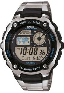 Relógio Digital Casio Ae-2100Wd-1Avdf Masculino - Unissex