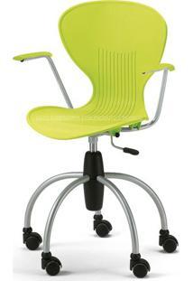 Cadeira Flash Polipropileno Branco Base Cromada 18009 Sun House