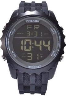 Relógio Potenzia Digital Running Esportivo À Prova Dàgua - Unissex
