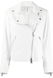 Suprema Jaqueta Biker - Branco