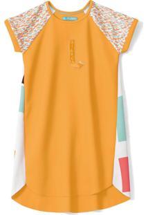 Vestido Lilica Ripilica Infantil - 10111607I Laranja