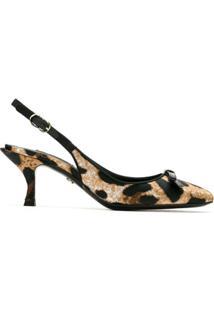 Dolce & Gabbana Scarpin Animal Print - Neutro