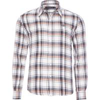 Camisa Masculina Check Classic French - Branco 85d8753236c3f