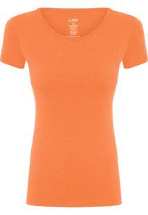 Camiseta Feminina Basic Color - Laranja