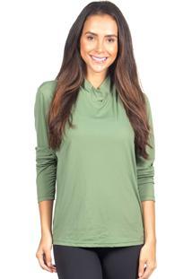 Camiseta Repelente De Mosquito Deeply Verde