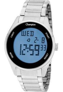 Relógio Champion Digital Ch40231T - Unissex-Prata