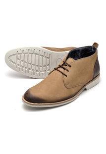 Sapato Social Oxford Reta Oposta - 38 Bege