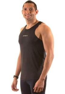Camiseta Regata Running Justrun Poliamida Masculina - Masculino