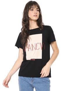 Camiseta Forum Fancy Preta