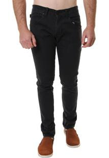 Calça Jeans Armani Jeans Masculina Black Slim Fit - 26942