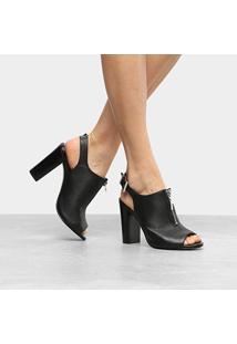 Ankle Boot Couro Loucos & Santos Napa - Feminino