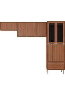 Cozinha Compacta 3 Peças Calábria 5472 - Multimóveis - Nogueira