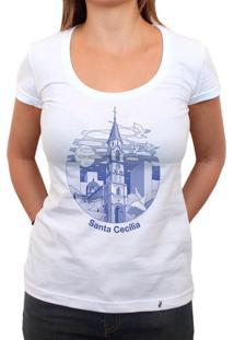 Sta Cecilia - Camiseta Clássica Feminina