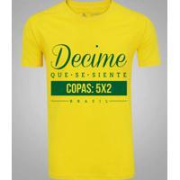 Camiseta Zé Carretilha Brasil Decime Masculina - Masculino 575f2d098951f