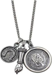 Colar W.Buscatti Amuletos Masculino - Masculino