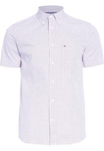 Camisa Masculina Custom Micro - Off White