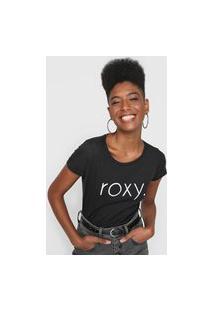 Camiseta Roxy Surf Spirit Preta