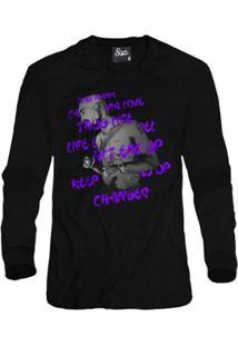 Casaco Moletom Skull Clothing Tupac Song Masculino - Masculino