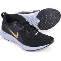 Tênis Nike Legend React Feminino - Feminino-Preto+Dourado 3dedb3a36154d