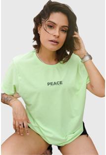 Camiseta Opus Peace - Verde - Kanui