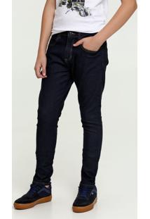 Calça Juvenil Jeans Bolsos Mr