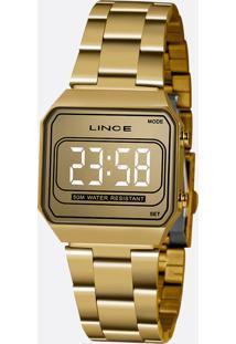 Relógio Feminino Digital Led Lince Mdg4644L Cxkx