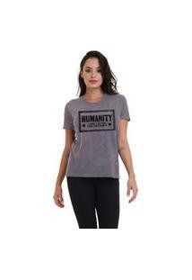 Camiseta Jay Jay Basica Humanity Chumbo Dtg