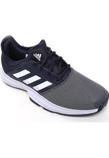 Tênis Adidas Gamecourt Masculino - Masculino-Marinho+Branco