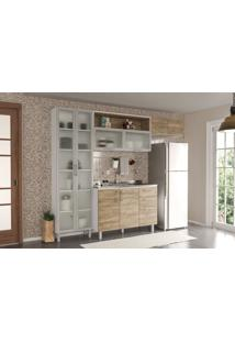 Cozinha Compacta Floripa #18 Com Gabinet