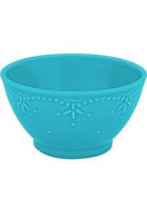 Conjunto De Tigelas Pearls Cerâmica 6 Peças Azul Turquesa Casa Alegre