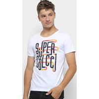 42fce211e Camiseta Infantil Colcci Fun Super Colcci Menino - Masculino-Branco