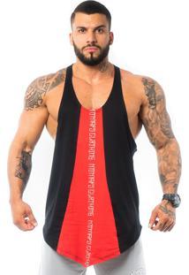 Regata Metamorfose Brasil Anatomic Black/Red