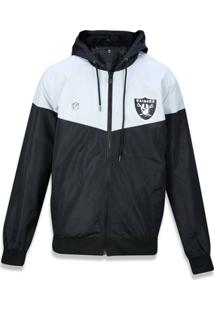 Jaqueta Quebra Vento Windbreaker Oakland Raiders Vein - New Era - Masculino e955cc9d7cf44