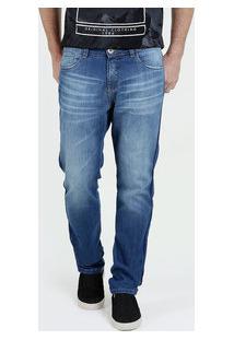 Calça Masculina Jeans Reta Razon