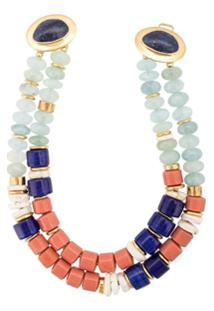 Lizzie Fortunato Jewels Colar 'Ariel' - Azul